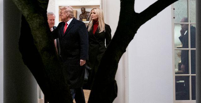Arkivbild. Trump i Vita huset.  Andrew Harnik / TT NYHETSBYRÅN