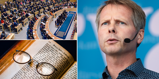 L-politikern Christer Nylander / arkivbilder TT