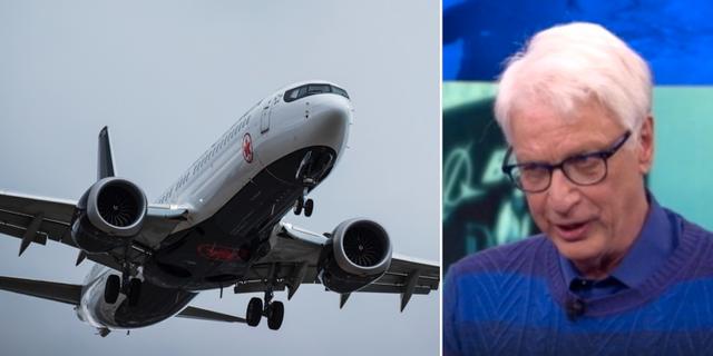 Flygplansjournalisten Jan Ohlsson. TT/SVT