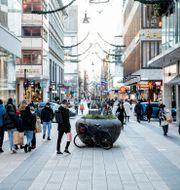 Drottninggatan i Stockholm. Christine Olsson / TT NYHETSBYRÅN