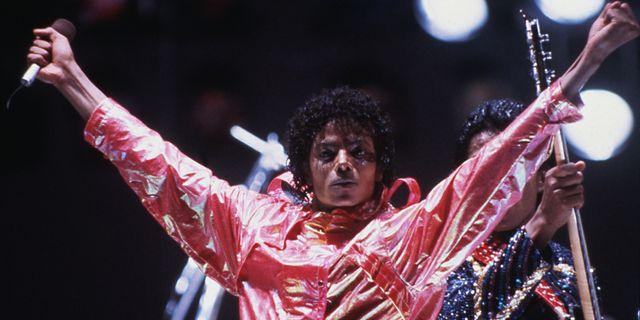 Michael Jackson 1984. TT NYHETSBYRÅN