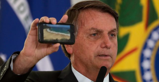 Jair Bolsonaro Eraldo Peres / TT NYHETSBYRÅN