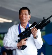 Rodrigo Duterte, Filippinernas president.  Bullit Marquez / TT NYHETSBYRÅN/ NTB Scanpix