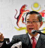 Lim Guan Eng, Malaysias finansminister. Voon Chong / TT NYHETSBYRÅN