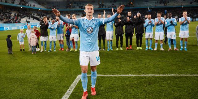Felix Beijmo under en match med Malmö FF förra året.  Andreas Hillergren/TT / TT NYHETSBYRÅN