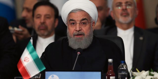 Hassan Rouhani. Hüdaverdi Yaman / TT / NTB Scanpix