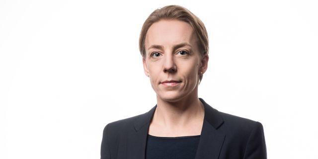 Lynda Ondrasek Olofsson, skatteexpert på Svenskt Näringsliv. Ernst Henry Photography