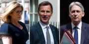 Penny Mordaunt, Jeremy Hunt och Philip Hammond kommer alla att lämna regeringen. TT
