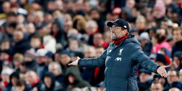 Liverpooltränaren Jürgen Klopp. Jason Cairnduff / TT NYHETSBYRÅN