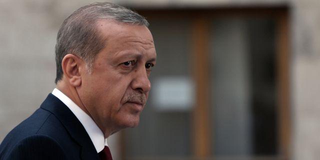 Turkiets president Erdogan. Burhan Ozbilici   TT   NTB Scanpix e5e2875b3e4c6