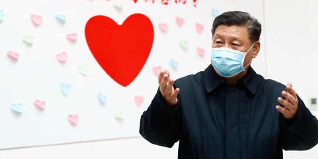 Xi Jinping. Liu Bin / TT NYHETSBYRÅN