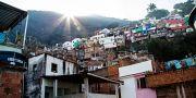 Favela i Rio de Janeiro. Arkivfoto. Martina Holmberg / TT / TT NYHETSBYRÅN