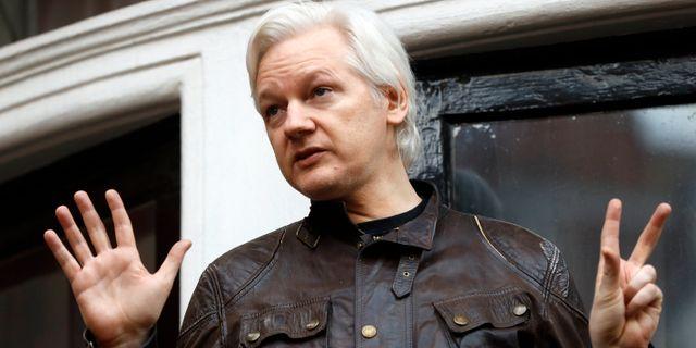 Julian Assange. Frank Augstein / TT NYHETSBYRÅN/ NTB Scanpix