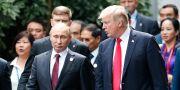 Vladimir Putin/Donald Trump. Jorge Silva / TT / NTB Scanpix