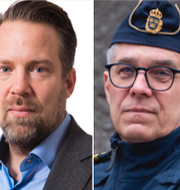 Mats Löfving, Johan Olsson, Anders Thornberg.  TT