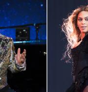 Elton John och Beyoncé. TT