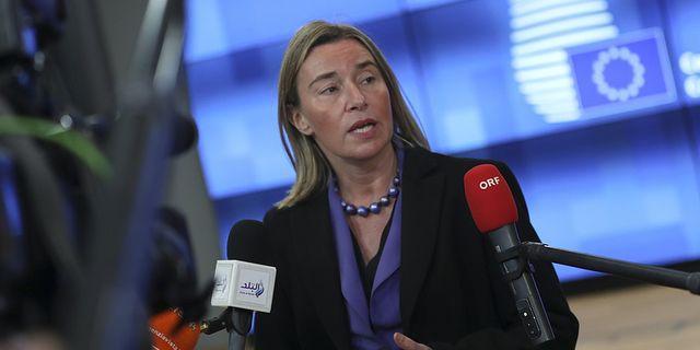 EU:s utrikeschef Federica Mogherini.  TT