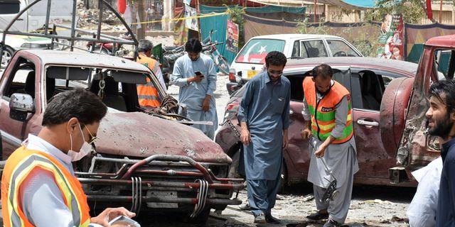 Explosion i fabrik dodade fem