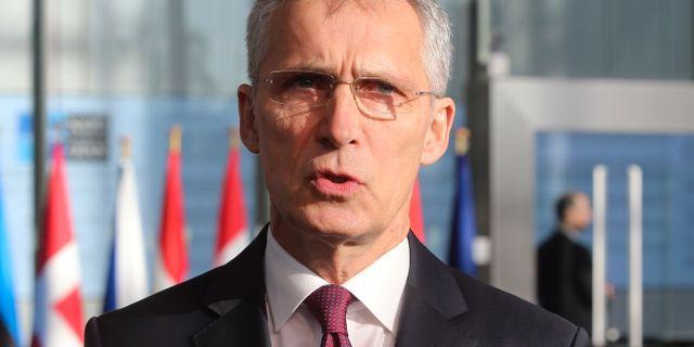 Jens Stoltenberg. FRANCOIS WALSCHAERTS / AFP