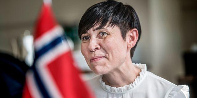 Norges utrikesminister Ine Eriksen Søreide Tomas Oneborg/SvD/TT / TT NYHETSBYRÅN