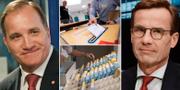 Huvudkandidaterna till statsministerposten Stefan Löfven (S) och Ulf Kristersson (M). TT