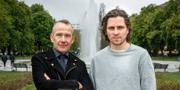 Bengt Braskered har skrivit manus och Sverrir Gudnason spelar Kurt Haijby. Foto: Johan Paulin/SVT.