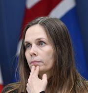 Islands statsminister Katrín Jakobsdóttir Jessica Gow/TT / TT NYHETSBYRÅN