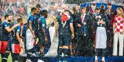 Franska landslaget tar emot sina guldmedaljer PETTER ARVIDSON / BILDBYR N