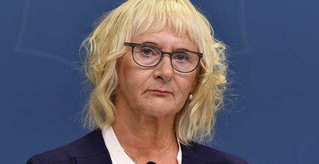 Lena Micko (S). Henrik Montgomery/TT / TT NYHETSBYRÅN