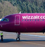 Det ungerska lågprisbolaget Wizz Air. Johan Nilsson/TT / TT NYHETSBYRÅN