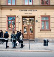 Franska skolan i Stockholm har 950 platser  Kenny Bengtsson / Svd / TT / TT NYHETSBYRÅN