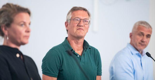 Statsepidemiolog Anders Tegnell.  Naina Helén Jåma/TT / TT NYHETSBYRÅN