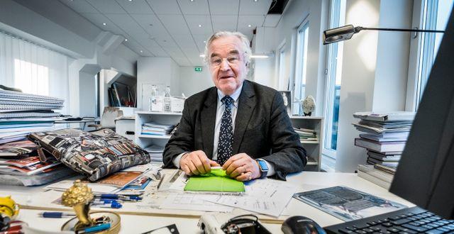 Investmentbolaget Creades storägare Sven Hagströmer. Magnus Hjalmarson Neideman/SvD/TT / TT NYHETSBYRÅN