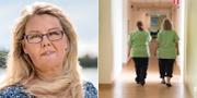 SKL:s chefsekonom Annika Wallenskog och arkivbild.  TT