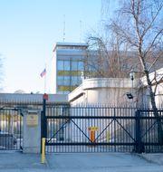 Rysslands ambassad i Stockholm/Arkivbild Jessica Gow/TT / TT NYHETSBYRÅN