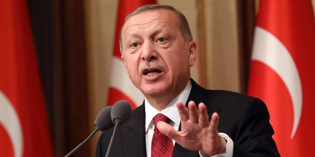 Turkiets president Recep Tayyip Erdogan.  ADEM ALTAN / AFP