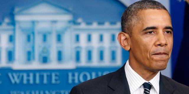 Barack Obama  KEVIN LAMARQUE / TT NYHETSBYRÅN