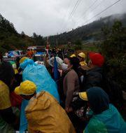Drabbade i Purulha, Guatemala Moises Castillo / TT NYHETSBYRÅN