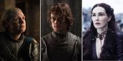Gwendoline Christie, Alfie Allen och Carice van Hauten anmälde sig själva till Emmygalan.  TT/HBO