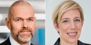 Torbjörn Isaksson och Anna Breman.  Pressbilder