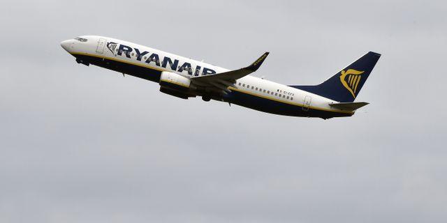Ryanair är nu störst i Europa med sina 117 miljoner passagerare förra året. Arkivbild. PASCAL PAVANI / AFP