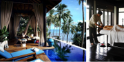 """""""En av de bästa dagarna i mitt liv"""", konstaterar Travel & Leisures reporter efter ett dygn på The Nam Hai. The Nam Hai"""