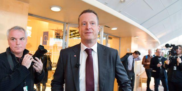 Anders Ygeman, energi och digitaliseringsminister. Jessica Gow/TT / TT NYHETSBYRÅN