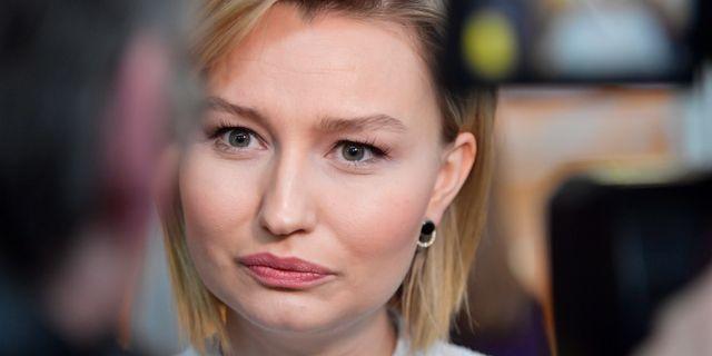 Kristdemokraternas partiledare Ebba Busch Thor.  Jessica Gow/TT / TT NYHETSBYRÅN