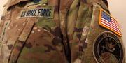 Rymdstyrkans uniform. Handout . / TT NYHETSBYRÅN