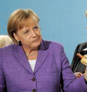Illustrationsbild: Tysklands förbundskansler Angela Merkel. JENS MEYER / TT NYHETSBYRÅN