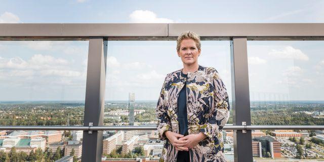 Karin Wanngård (S). Allis Nettréus/SvD/TT / TT NYHETSBYRÅN