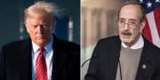 Donald Trump /  Eliot Engel, ordförande i representanthusets utrikespolitiska kommitté. SAUL LOEB / AFP och Samuel Corum / GETTY IMAGES NORTH AMERICA