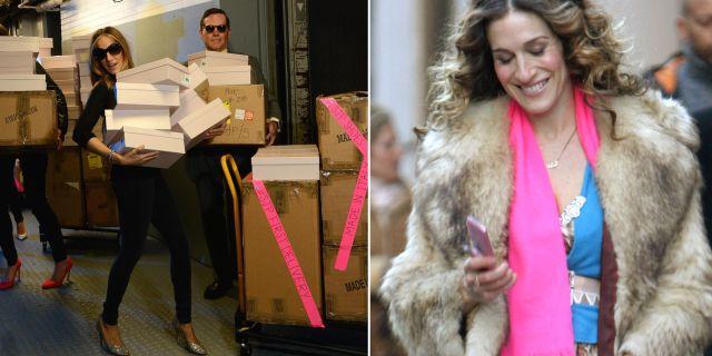 Dagen med Sarah Jessica Parker kostar ungefär 3 300 kronor och inkluderar besök på bland annat Bloomingdales, Forty Carrots och New York City Ballet. Instagram
