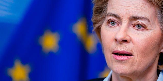 Arkivbild: EU-kommissionens ordförande Ursula von der Leyen.  KENZO TRIBOUILLARD / TT NYHETSBYRÅN